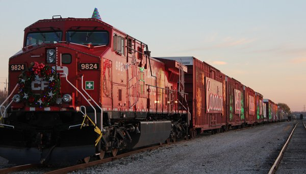 CP's Holiday Train arrived in Windsor